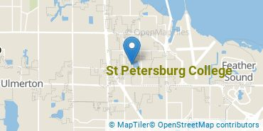 Location of St Petersburg College