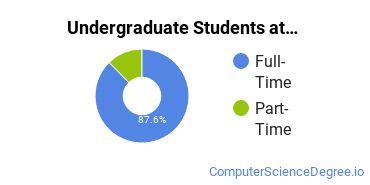 Full-Time vs. Part-Time Undergraduate Students at  UA