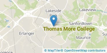 Location of Thomas More College