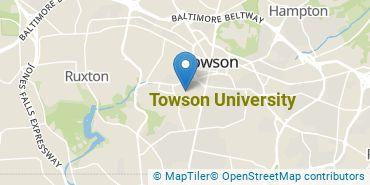 Location of Towson University