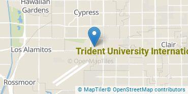 Location of Trident University International