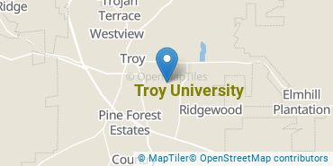 Location of Troy University