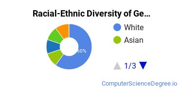 Racial-Ethnic Diversity of General Computer & Information Sciences Majors at Tulane University of Louisiana