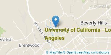Location of University of California - Los Angeles