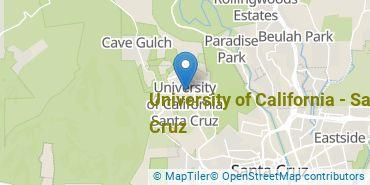 Location of University of California - Santa Cruz