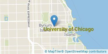 Location of University of Chicago