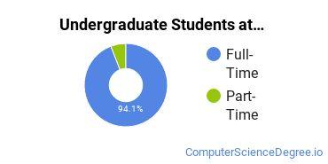 Full-Time vs. Part-Time Undergraduate Students at  DU