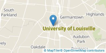 Location of University of Louisville
