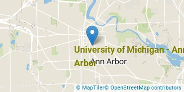 Location of University of Michigan - Ann Arbor