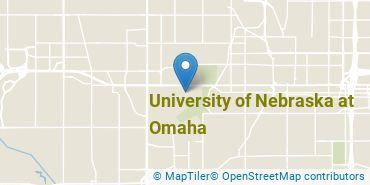 Location of University of Nebraska at Omaha