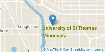 Location of University of St Thomas Minnesota