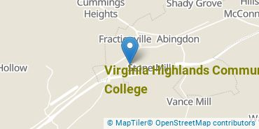 Location of Virginia Highlands Community College