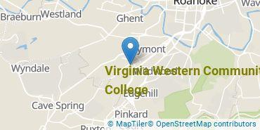 Location of Virginia Western Community College