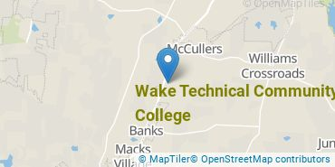Location of Wake Technical Community College