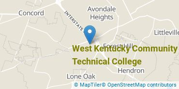 Location of West Kentucky Community and Technical College