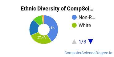 Computer Science Majors in CA Ethnic Diversity Statistics