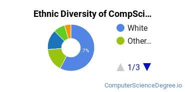 Computer Science Majors in CO Ethnic Diversity Statistics