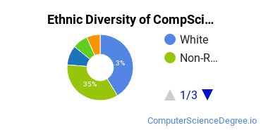 Computer Science Majors in CT Ethnic Diversity Statistics