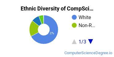 Computer Science Majors in ID Ethnic Diversity Statistics