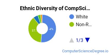 Computer Science Majors in IN Ethnic Diversity Statistics