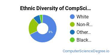 Computer Science Majors in ND Ethnic Diversity Statistics