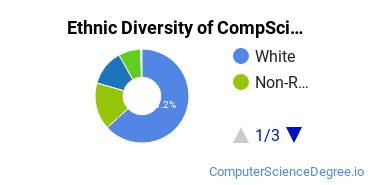 Computer Science Majors in OR Ethnic Diversity Statistics