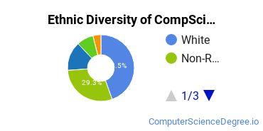 Computer Science Majors in RI Ethnic Diversity Statistics