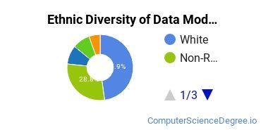 Database Modeling & Administration Majors in IL Ethnic Diversity Statistics