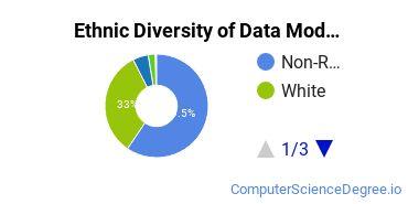 Database Modeling & Administration Majors in MI Ethnic Diversity Statistics