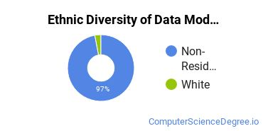 Database Modeling & Administration Majors in NY Ethnic Diversity Statistics