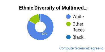 Web & Multimedia Design Majors in KY Ethnic Diversity Statistics