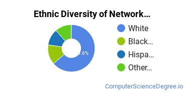 Network Administration Majors in KS Ethnic Diversity Statistics