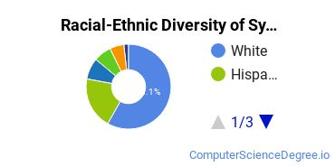 Racial-Ethnic Diversity of System, Networking, and LAN/WAN Management/Manager Students with Bachelor's Degrees
